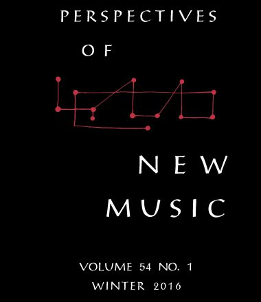 JOURNAL ARTICLE – Music and Politics in the Spain of the 1960s – Perspectives of New Music